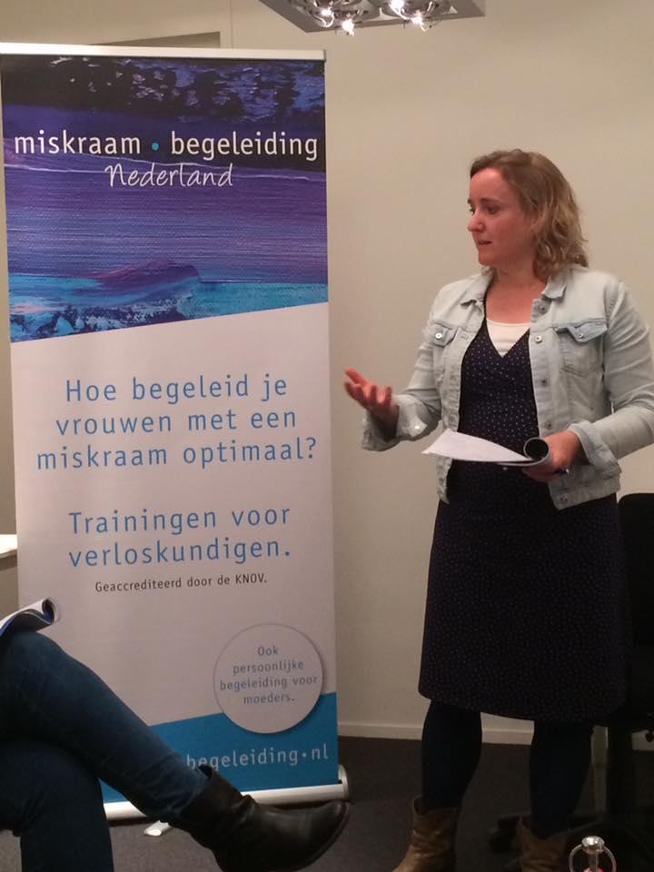 training Winschoten - 13 april 2017 Miskraambegeleiding Nederland